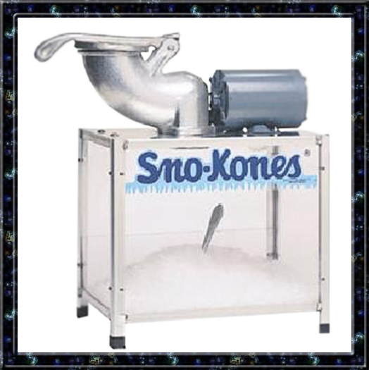 sno kones machine